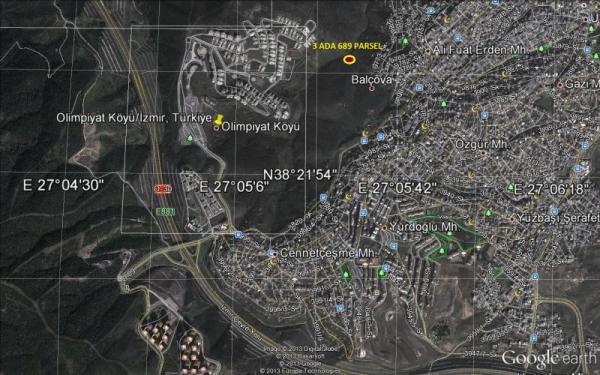 Balçova, Olimpiyat Evlerinde, Satılık Arsa