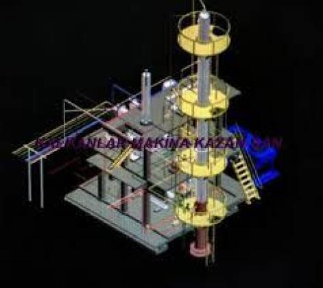 mobil hampetrol rafineri distilasyon yapımı imalatı mobil kolon rafineri imalatı kalkanlar makina