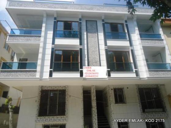 İstanbul Bahçelievler kocasinan mah de satılık sıfır bahçe kat daire