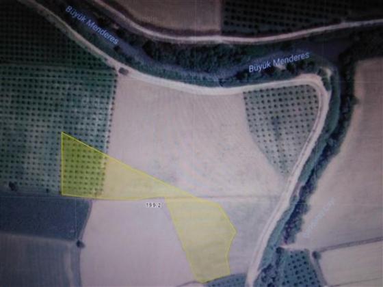 Aydın, Kuyucak ,Başaran' da satılık 8480 m2 1.sınıf arazi