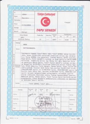 Sahibinden İzmir-Bayındır-Kızılcaova'da 2 Adet Satılık Arsa