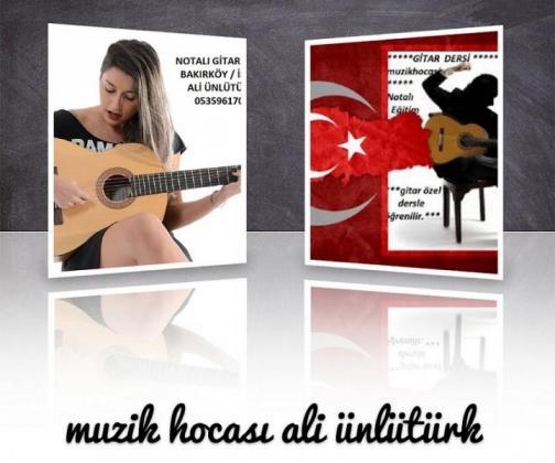 NOTALI GİTAR DERSİ ÇOCUKLARIN ZEKALARINI ARTIRIR