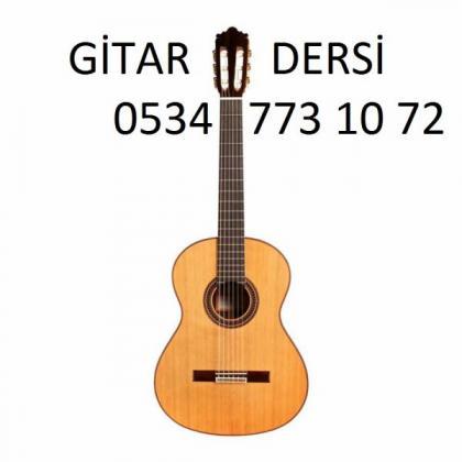 gitar dersi 0534 773 10 72