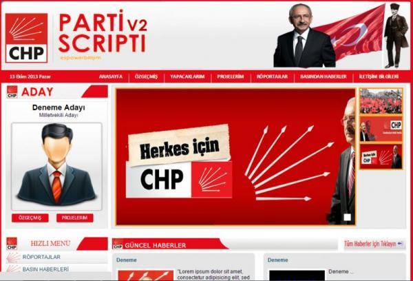 Parti Seçim Scriptleri