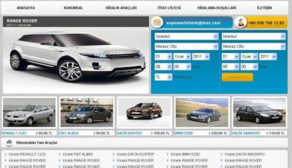 Rent A Car (Oto Kiralama) Scriptleri
