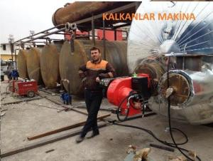 construction of diesel production machinery from crude oil kalkanlar machina