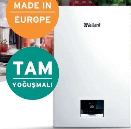 FIRSAT Vaillant ecoTEC Intro - 18 kW Tam Yoğusmalı KombiIsıtma ve Sıcak Suda A enerji verimliliği Paslanmaz Çelik Eşanjörü ile kanıtlanmış uzun ömür F