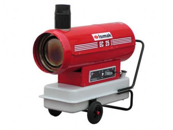 ISIMAK Ec-25 Bacalı Sıcak Hava Cihazı 25.000 Kcal/h