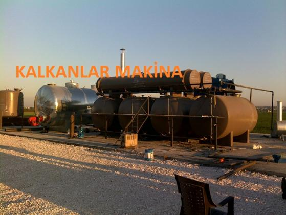 small crude oil refinery for sale kalkanlar makhina