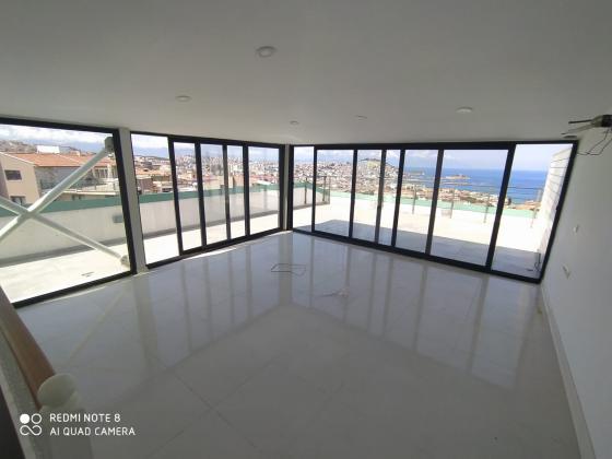 Aydın Kuşadası Türkmende Deniz Manzaralı Satıl Çatı Katı Dublex