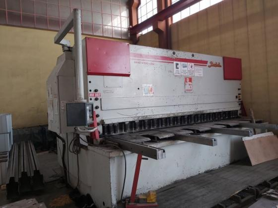 HNC 4100 x 20mm 2005 Model Baykal Abkant Pres ve Giyotin Makas