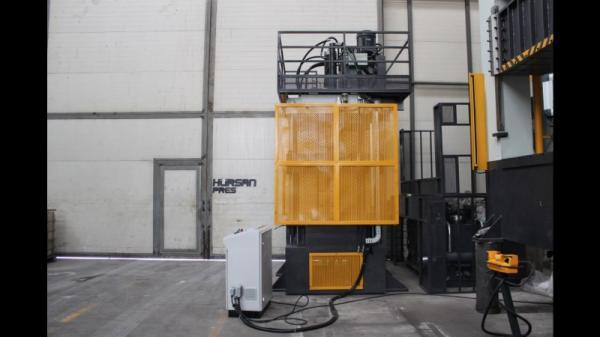 HÜRSAN 200 Ton Kapasiteli 4 Kolonlu Hidrolik Çift Etkili (Sıvama) Presi
