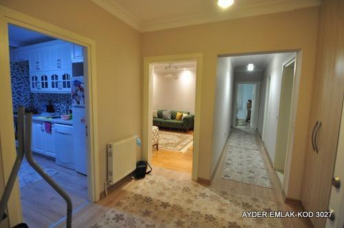 Manolya evlerin de satılık tadilatlı 132 m²-3+1- 15. kat daire