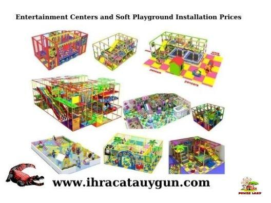 Entertainment Centers and Soft Playground Installation Prices