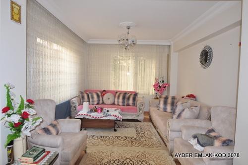 cumhuriyet mah de satılık 100 m² 2+1 –bahçe kat daire