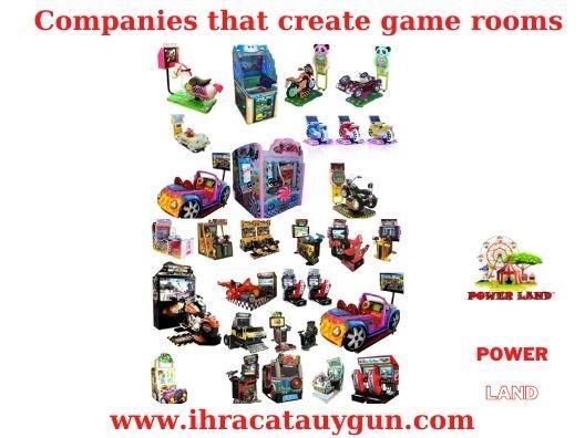 Oyun Salonu Açmak-Oyun Salonu Malzemeleri-Oyun Salonu Makineleri