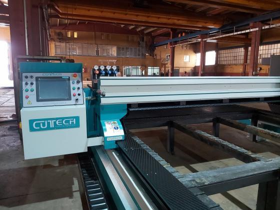 3000 x 8000 x 300mm OXY ve Plazma  Kesim Tezgahı ( SIFIR )