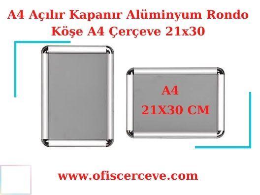A3 Rondo Köşe Alüminyum Çerçeve Fiyatları - Seri Üretim
