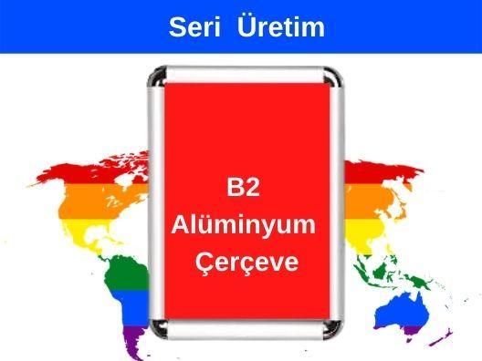 B2 50x70 Alüminyum Rondo Çerçeve Çerçeve Fiyatları