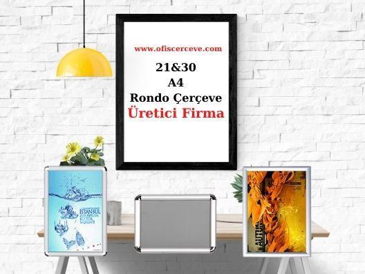 Rondo Köşe Alüminyum Çerçeve Fiyatları - Seri Üretim
