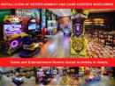 Game and Entertainment Rooms Social Activities in Hotels
