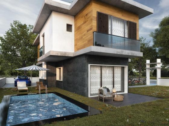 Güzel çamlıda 7+1 tek müstakil özel havuzlu genış bahceli villa
