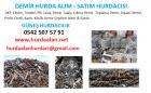 DEMİR HURDASI ALAN SATAN HURDACI 0542.507.57.91