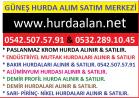 GÜNEŞ HURDACILIK – Hurda Alınır & Satılır.  0542.507.57.91